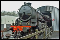 No 1264 6th March 2018 North Yorkshire Moors Railway Grosmont (Ian Sharman 1963) Tags: no 1264 6th march 2018 north yorkshire moors railway grosmont class b1 460 61264 lner steam station engine rail railways train trains loco locomotive nymr
