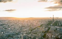View of Paris (Raph/D) Tags: paris city ville urban view tour montparnasse sunset canon eos 7d mark ii l series canoneos7dmarkii lseries 2470mm ef2470mmf28liiusm eiffel monument europe cityscape sky
