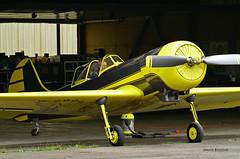 Yakovlev Yak-50 n° 812008 ~ F-AZYP (Aero.passion DBC-1) Tags: spotting lognes 2005 dbc1 david biscove aeropassion avion aircraft aviation plane yakovlev yak50 ~ fazyp