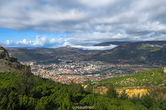 Mostar, Bosnia and Herzegovina (HimzoIsić) Tags: landscape outdoor hill conifer