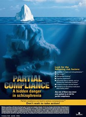Partial Compliance in Schizophrenia, Janssen (2006) (Belli Research Institute Archives) Tags: schizophrenia psychosis pharmaceuticals