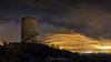 Pilar de Almenara (www.jorgelazaro.es) Tags: pilar ruina nocturna almenara noche torre estrella víaláctea milkyway milky paisaje agramunt cataluña españa es