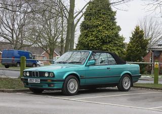 1991 BMW 318i Convertible