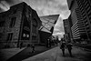 To The ROM (A Great Capture) Tags: monochrome blackandwhite bw urban streetphotography street walking architecture rom toronro agreatcapture agc wwwagreatcapturecom adjm ash2276 ashleylduffus ald mobilejay jamesmitchell toronto on ontario canada canadian photographer northamerica torontoexplore spring springtime printemps 2017 efs1018mm 10mm wideangle city downtown lights cityscape urbanscape eos digital dslr lens canon 70d skyline towers tower buildings scenery scenic sky himmel ciel overcast cloudy noiretblanc blancoynegro outdoor outdoors streetscape photography streetphoto calle history historic people hands holding walk silhouette silueta clouds shape shapes