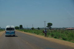 imgp1242 (Mr. Pi) Tags: village cycling van roadside ontheroad dirtywindow southafrica