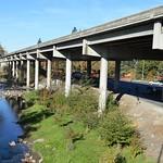 I-5 Medford Viaduct, Bear Creek, Medford thumbnail