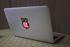 The only #laptop sticker you'll ever really need  (dullhunk) Tags: apple raspberrypi sticker laptop computer 35 myothercomputer cambridge raspberrypifoundation lessismore raspian macos ios