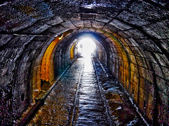 Doon the Pit (stephen mcgahon) Tags: beamish museum durham coal mining drift mine tunnel