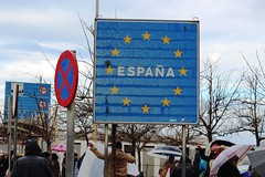 Border crossing (vermillionhorizon) Tags: ceuta spain espana europe africa border bordercrossing morocco