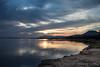 Lower_Zambezi-041 (Beverly Houwing) Tags: africa lowerzambezi zambia banks zambeziriver silhouette glow afternoon reflection clouds