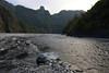 Tigger at Maolin (Bob Hawley) Tags: asia taiwan nikond5500 nikon18140mmf3556vrdx outdoors kaohsiung maolinnaturalscenicarea mountains rivers valleys forest nature evening dogs pets taiwantugou hiking