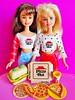 1994 Pizza Party Skipper & Friends (The Barbie Room) Tags: 1994 pizza party skipper doll 12920 courtney 12943 1990s 90s barbie hut friends friend pizzeria