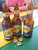 St.Kitts Carib beer (rossendale2016) Tags: brew fizzy enjoyable fantastic brewed local alcohol drinks brown glass bottles refreshing dollars five three beer carib caribbean terminal cruise port bar kitts st