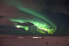 Hungry dragon 1 (Iceland) (armxesde) Tags: pentax ricoh k3 iceland island winter snow schnee northernlights polarlights polarlichter nordlichter auroraborealis green grün sky himmel stern star