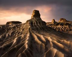 """Mungo Lunette (Trevor Tutt) Tags: formations light clouds sky """"roadtrip"""" lunette landscape nsw outback mungo """"mungonationalpark"""""""