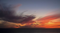 Fire in the Sky (San Francisco Gal) Tags: sunset sky cloud lucia bigsur california