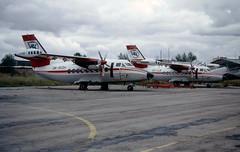 OK-WDH/ES-LLB  LET L-410 UVP-E (Bates Aviation Reports) Tags: ok l410 1993 tll scan