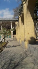 Massoudieh palace (afs.harp) Tags: tree trees tehran blue sky spring shine culture historical