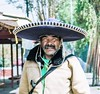Regards du Mexique - 10 (dominiquita52) Tags: mexico xochimilco sombrero chapeau moustache stare regard portrait