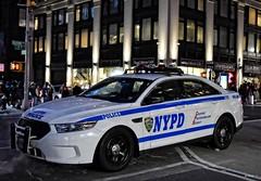 NYPD - CTTF 4002 (Arthur Lombard) Tags: nypd police policedepartment policecar policestation policeinterceptor ford fordtaurus led bluelight lightbar newyork nikon nikond7200 street emergency 911 999 112 17 usa