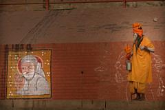 Inde: les ghats de Varanasi. (claude gourlay) Tags: inde india asie asia claudegourlay ghats bénares varanasi religion indou hindu sadou sadhu