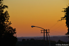 Sunset (ElisaArduini) Tags: sunset orange light pink landscape nature natura outdoor palombara palombarasabina italia italy cielo tramonto photography fotografia flickr photo photos foto nikon d3200 nikond3200