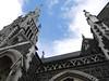 Looking up (yukky89_yamashita) Tags: dunedin nz church sky clouds knoxchurch georgest