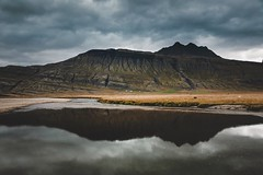 Here in my place and time (desomnis) Tags: iceland island traveling travel landscape landscapes landschaft sky clouds dramatic desomnis canon5dmarkiv canon5d dramaticsky dramaticmood moody reflection spiegelung travelinglandscape travelphotography tamronsp2470mmf28 tamron2470mm tamron2470