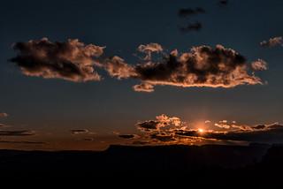 Sunset at Banyoles
