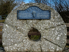 Millstone (keithbellis) Tags: purple sirmon anglesey llynonmill windmill wales northwales