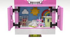 UCS Unikitty interior (Oky - Space Ranger) Tags: lego movie unikitty ucs moc sculpture inside out mind