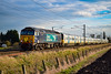 57301 + 365503 + 365519 - Bannold Road - 13/03/18. (TRphotography04) Tags: direct rail services drs 57301 golaith dragds govia great northern ex brel 365519 past bannold road working 5q65 595n 410 hornsey emud ely mlf papworth sidings the two class 365s were off for secure storage seen running 23 minutes late 365503