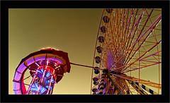 La Grande Roue (Jean-Louis DUMAS) Tags: roue cercle lumière forain bordeaux cile sky