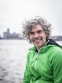 Richard, Amsterdam 2018: Smiling man