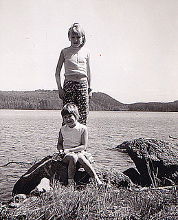 Me and my sister 1964