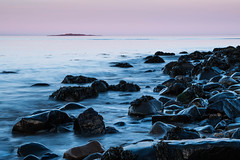 Sunset at Cramond (Shrink1061) Tags: pentax k50 edinburgh cramond firthofforth sea sunset seascape manfrotto scotland walking beach outdoors filter