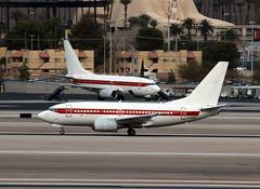 N288DP (wiltshirespotter) Tags: klas lasvegas boeing 737 737600 ursfederalservices janet