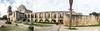 Church and Convento - Explored (RPahre) Tags: misiónsanjoséysanmigueldeaguayo sanjoséysanmigueldeaguayo sanjosé sanantoniomissionsnationalhistoricalpark sanantoniomissions sanantonio texas mission church convento pano panorama elcaminorealdelostejas elcaminoreal