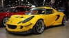 IMG_4329: Widebody Lotus Elise (i_am_lee_sam) Tags: 2018 world of wheels autorama tuner galleria modified import cars automobile donald e stephens convention center rosemont il lotus elise wide body widebody kit solar yellow