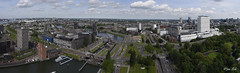 Rotterdam in Panorama (Jan Slob) Tags: rotterdam zuidholland netherlands holland euromast panorama city nikon nikond750 ©allrightsreserved geotagged explore