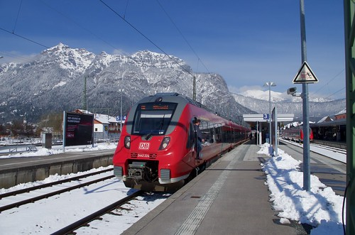 2442 224 at Garmisch-Partenkirchen
