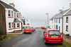 Red and White (cookedphotos) Tags: travel scotland islay canon 5dmarkiv portcharlotte unitedkingdom gb cars red white