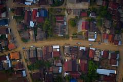 Vang Vieng from above (oneil_kwangwanh) Tags: vangvieng laos hotairballoon balloonride balloon aerial travel vangvienglaos