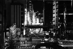 Tokyo - Ginza (Giuseppe Peletti) Tags: tokyo japan minatoku tōkyōto giappone ginza urban architecture city photography blackwhite building street