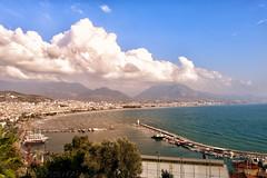 Alanya Limanı (Akcan PhotoGraphy) Tags: alanya antalya liman harbor manzara landscape clouds sea