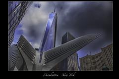 One World Trade Center  NYC (vonhoheneck) Tags: oneworldcenter newyork nyc schoelkopf schölkopf skyscraper manhattan usa passageway wtc fultoncenter canon eos 6d