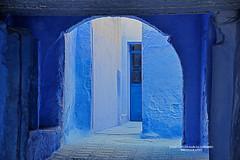 Chefchaouen, Morocco (Juan C. García Lorenzo) Tags: chefchaouen chaouen morocco marruecos arab árabe africa áfrica travel viajes nikon nikond90 blue azul