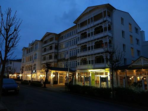 """Hotel """"Vier Jahreszeiten"""" in Binz auf Rügen"""