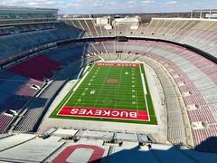 ohio stadium (brown_theo) Tags: buckeyes buckeye football field gridiron theshoe horseshoe 'shoe stadium campus ohio columbus ohiostateuniversity osu