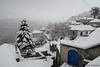 """Blue And White"" (alekathom) Tags: kalarites ioannina epirus tzoumerka greece hellas village snow white blue nature outdoor fog"